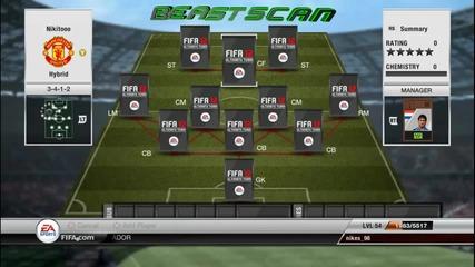 Fifa   Ultimate Team   Squad Builder   Hybrid #1
