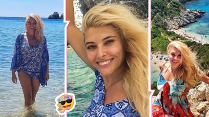 Нито PCR тест, нито QR код: Нищо не спря Ева Веселинова за мечтана романтична ваканция в Гърция