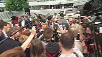 Ukraine: Tymoshenko speaks as Savchenko arrives in Kiev following prisoner swap