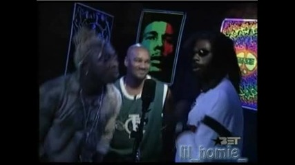 Rap City Freestyle - Elephant Man & Buju Banton *HQ*