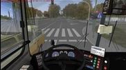 Omsi Икарус по линия 82 (ръчни скорости)