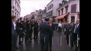 Меркел и Оланд отбелязаха 50 години от примирието между Париж и Берлин