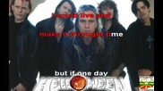 Helloween - If I Knew - Karaoke + превод