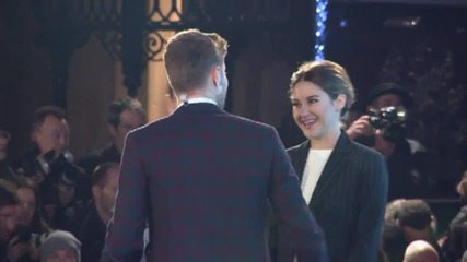 Theo James, Shailene Woodley Stun At 'Insurgent' World  Premiere