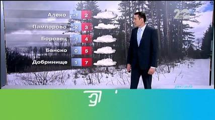 Прогноза за времето (29.10.2014 - обедна)
