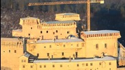 Замъкът Красна Хорка - 21.12.2012 - реконструкция