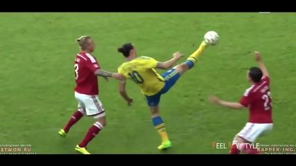 Zlatan Ibrahimović ● Craziest Skills Ever ● Impossible Goals