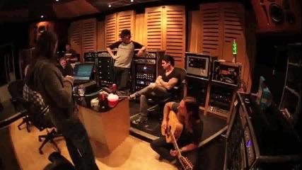 Bullet For My Valentine в студиото (вокалите от Тemper Temper)