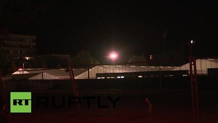 Germany: Dresden refugee camp on lockdown after hooligans target inhabitants