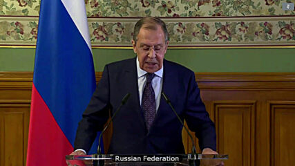 Russia: Lavrov considers increasing attacks on UN to be unfair