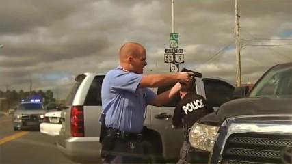 Брутални полицейски преследвания!