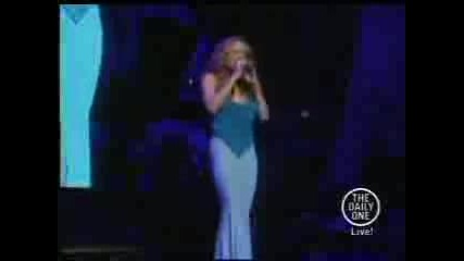 Mariah Carey - Against All Odds - Live
