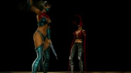 Mortal Kombat 9 - Kitana Fatality #1