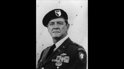 Ричард Крена като Полковник Самюел Траутман от яката Рамбо: Трилогия (1982-1985-1988)