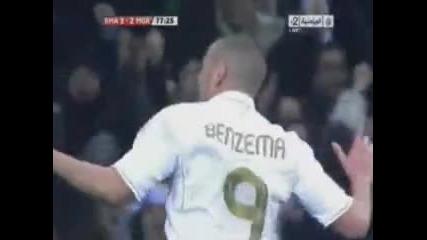 """Шоу на """"бернабеу"""", Реал с обрат от 0:2 до 3:2 срещу Малага"""