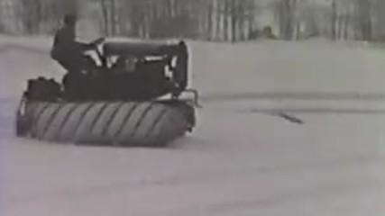 Snow Devil - Armstead Snow Motors mobile in Fordson tractor (1926) - Full original film