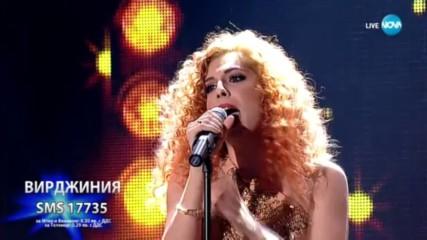Вирджиния ''се завърна'' по-силна отвсякога - Listen - X Factor Live (19.11.2017)