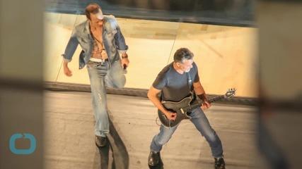 Eddie Van Halen Talks 'Tokyo Dome,' Van Halen Album Plans