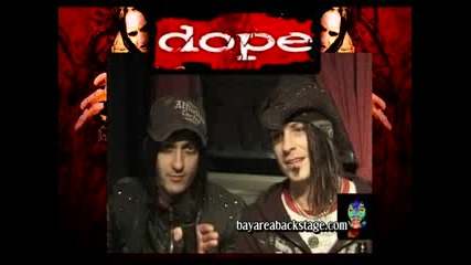 Dope Interview - Edsel and Virus в Bay Area Backstage