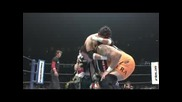 N J P W Wrestle Kingdom I V - Tajiri & Masato Tanaka vs Yuji Nagata & Akebono