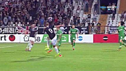 Локомотив (Пловдив) - Лудогорец 2:2 /репортаж, Първа лига, 5-и кръг/