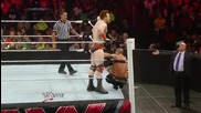 John Cena competes in a 4-on-3 Handicap Match: Raw, June 23, 2014