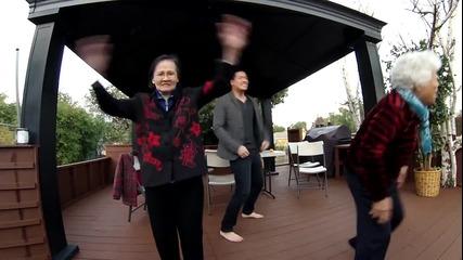 Баби откачат на Harlem Shake!