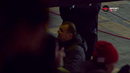 Загорчич и Георги Петков поискаха обяснение от съдията