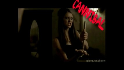 - Nina Dobrev // cannibal !