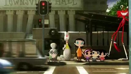 Cartoon Network Град - Пешеходна пътека