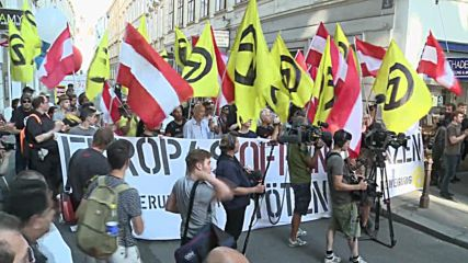 Austria: 'We should send them back' – Identitarian activists rally in against Turkey