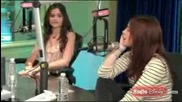 Maggie Castle and Danielle Campbell singing on Radio Disney