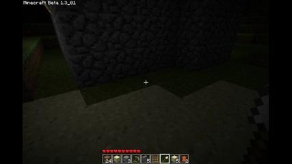 Minecraft: уроци:урок 3: Стъкло и различни видове стълби