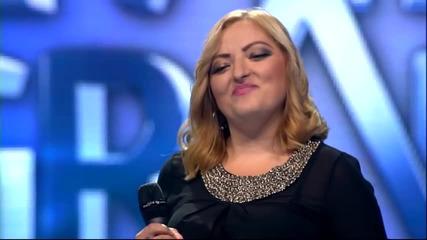 Marija Bojovic - Lazem sebe da mogu bez tebe - (live) - ZG 2014 15 - 10.01.2015. EM 17.
