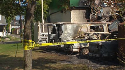 USA: Govt. agents investigate fire damage in Milwaukee after riots over police shooting