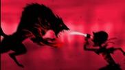 Червената кървава шапчица - късометражна анимация the Little Dark Red Blood Riding Wolf Hood 720p hd