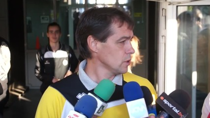 Хубчев: Всички играха добре, не обръщайте внимание на резултата