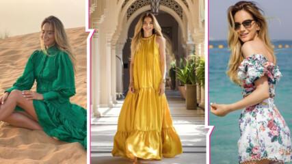 Като истинска дубайска принцеса: Зейнеб впечатли с красиви кадри от екзотично пътешествие