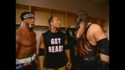 Kane Имитира The Rock & Hulk Hogan