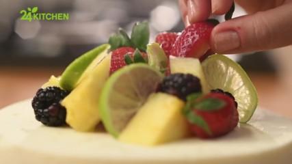 Нина Бабич - Чийзкейк с лайм и малинов вкус