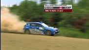 Patrick Richard и навигаторът Alan Ockwell блъскат Subaru-то си, нo...