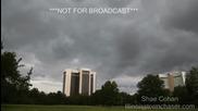 Time lapse - облаците в Макомб, Илинойс
