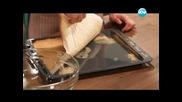 Солен кейк, салата с моцарела, хапки с шоколад и синьо сирене - Бон Апети (21.06.2013)