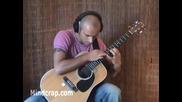 Страхотно изпълнение на китарист