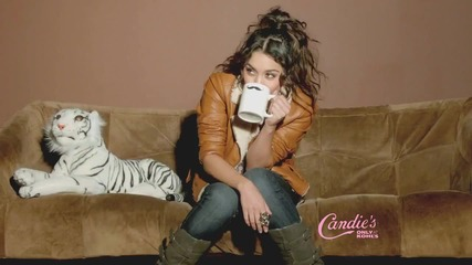 Vanessa Hudgens Candies Commercial