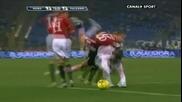 As Roma - Palermo 4:1 13 02 2010