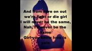 Kat Dahlia ft. Candy Warhol - Lose you with Lyrics