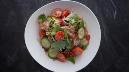 Тайландска салата с патешко | Джъстин Скофийлд | 24Kitchen Bulgaria