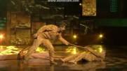 Dipika и Shoaib в танцовото състезание Nach Baliye 8 (последен танц)