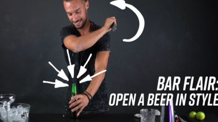 Own the party: A bartender shows 3 unique ways to open a beer
